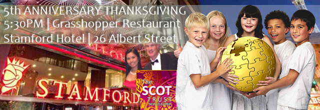 SCOT Trust-5th Anniversary Thanksgiving Header Image